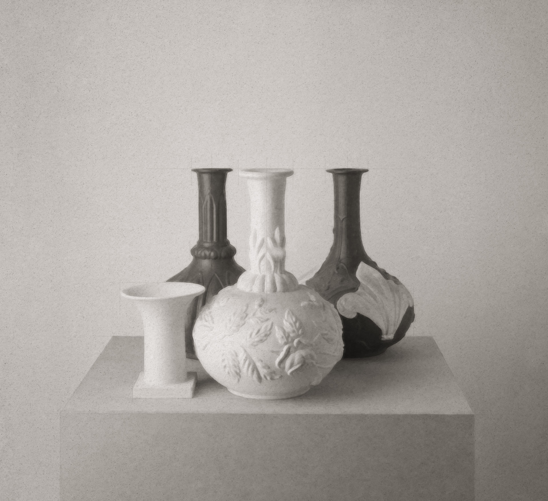 Morandi on a Pedestal 185