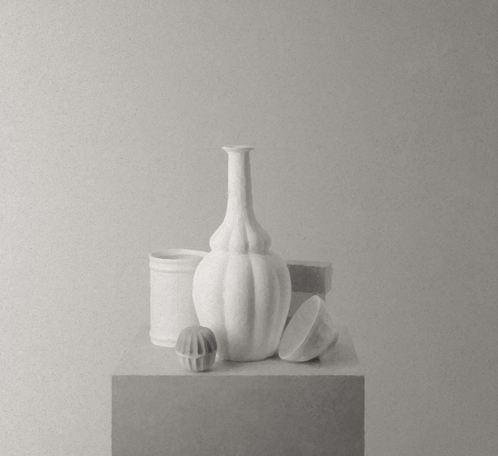 Morandi on a Pedestal 182