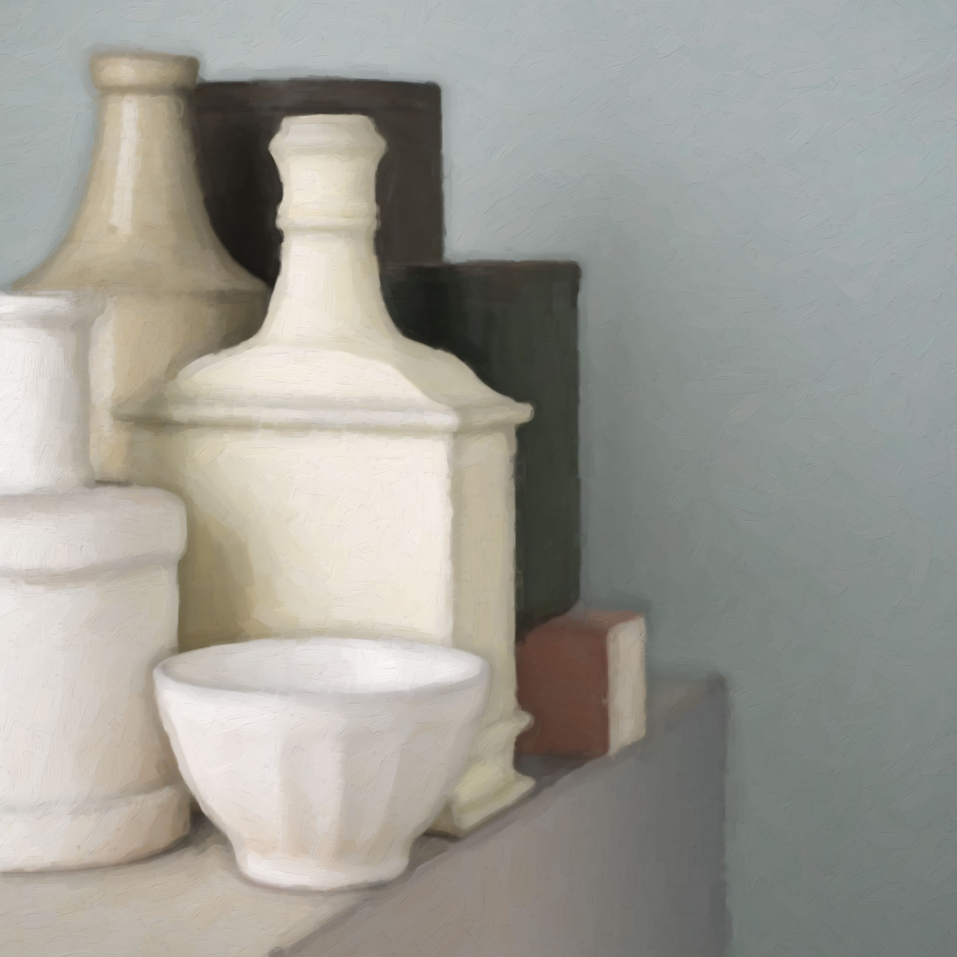 Morandi on the edge 9