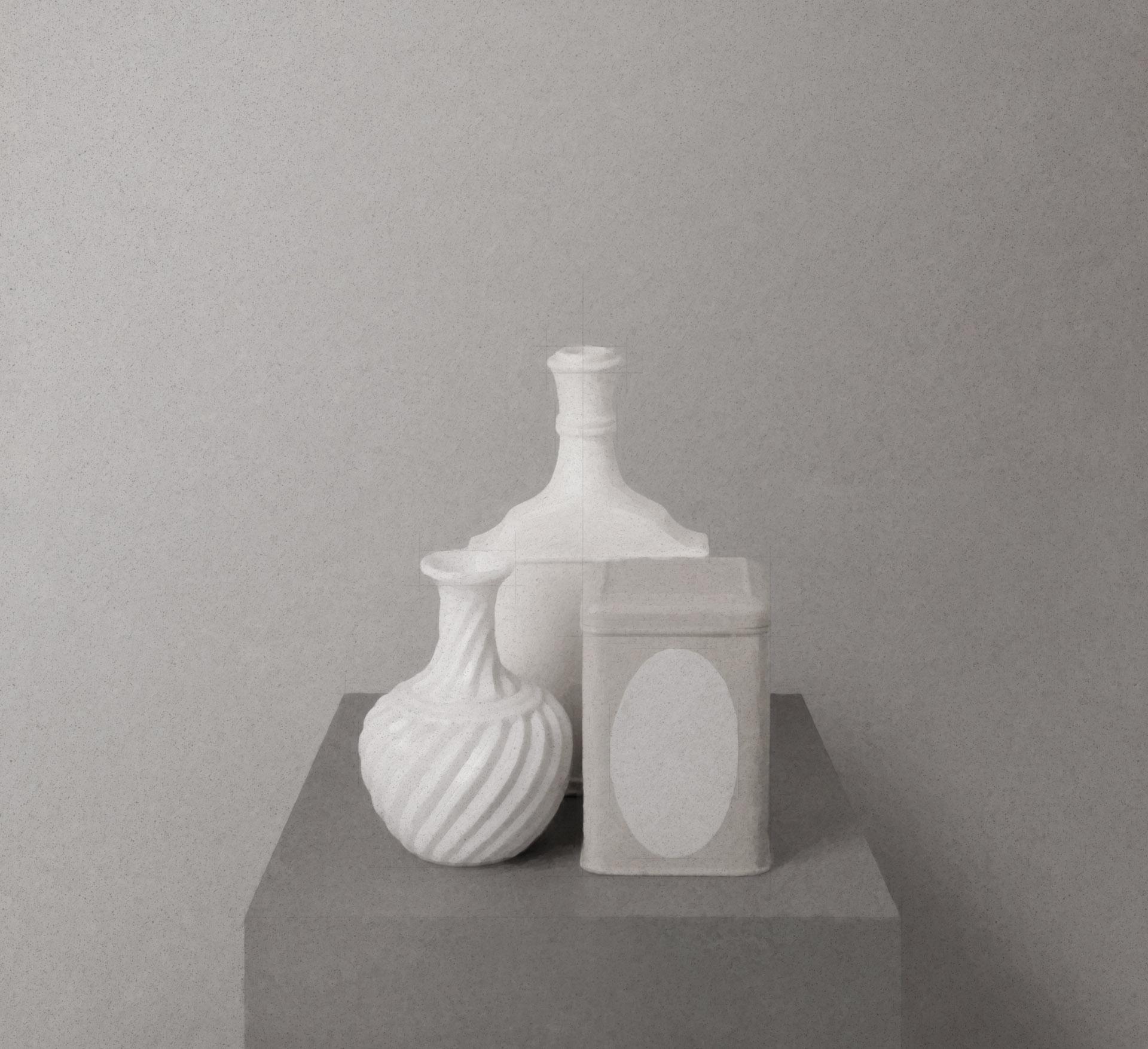 Morandi on a Pedestal 1821