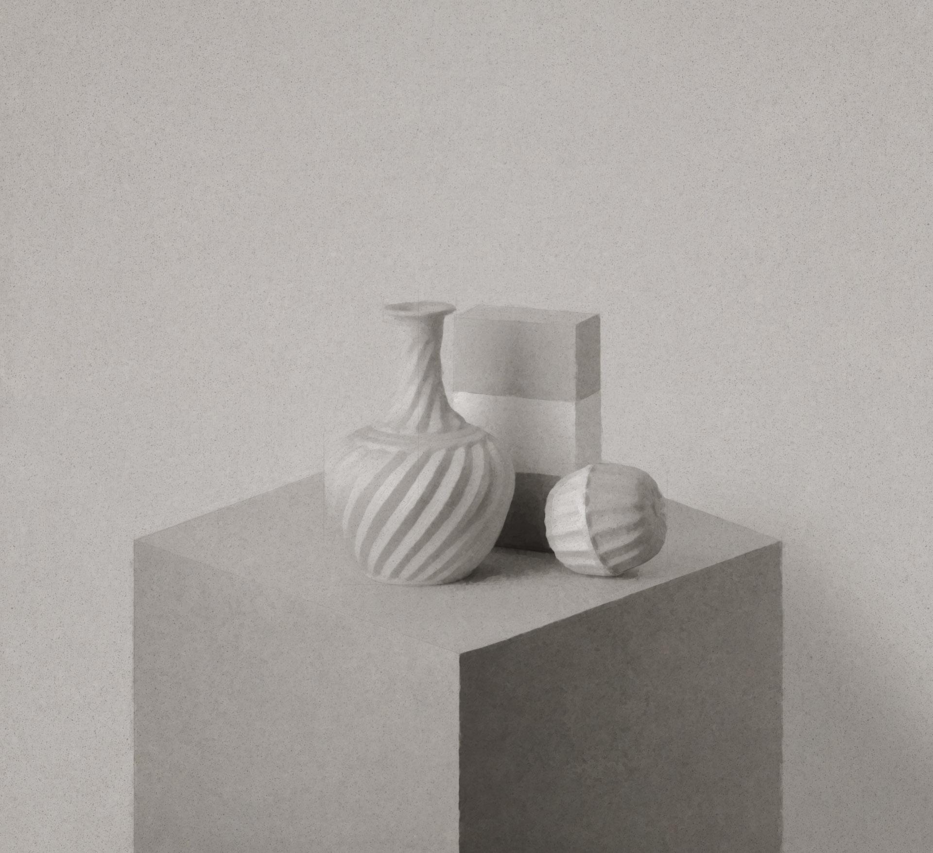 Morandi on a Pedestal 184