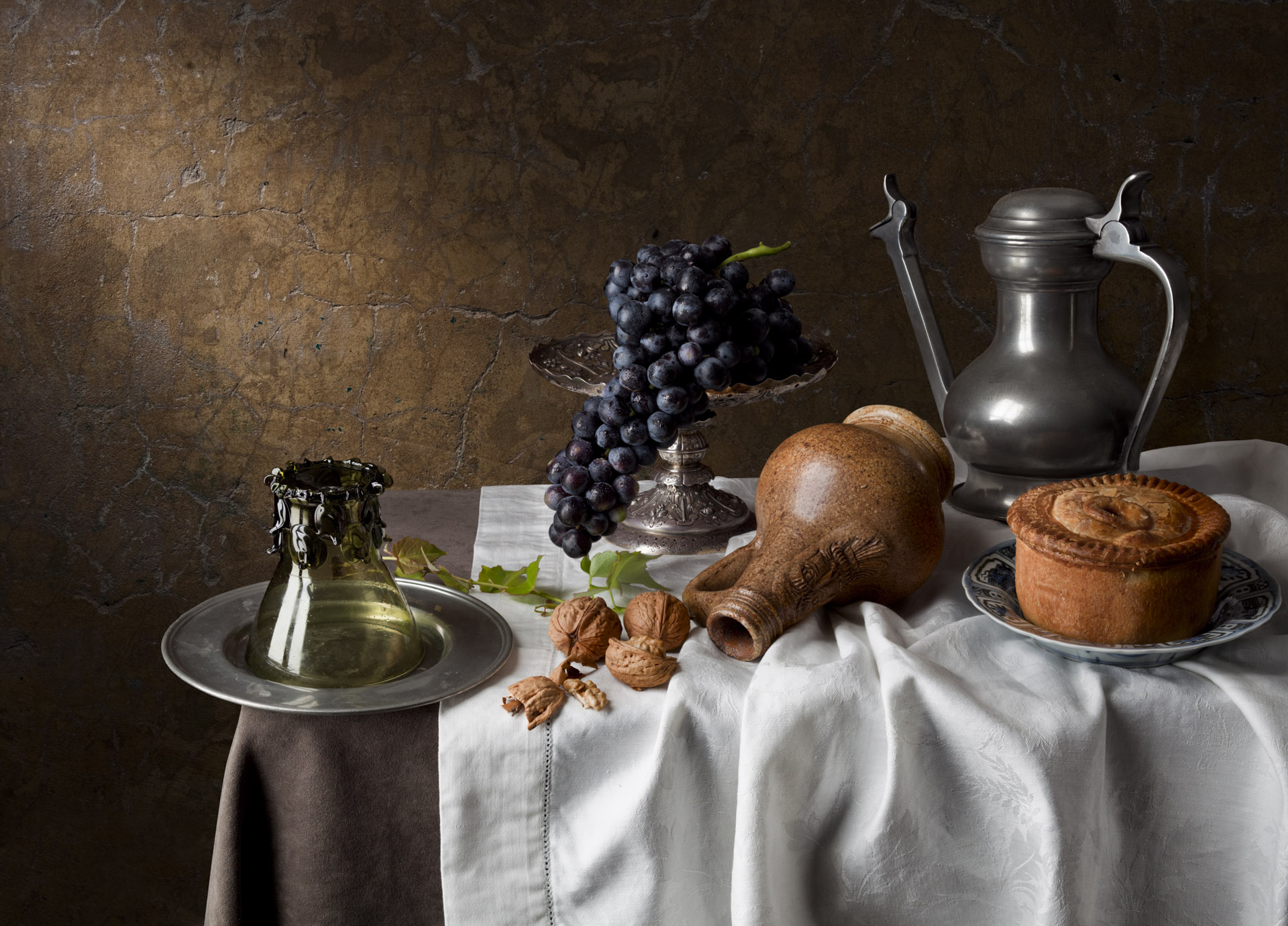 Still life with bartmann jug