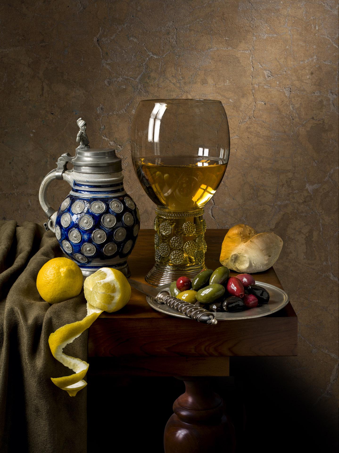 Still life with Vermeer stein